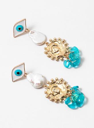Eyes Like the Ocean Earrings