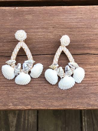 Beach Please Chandelier Earrings