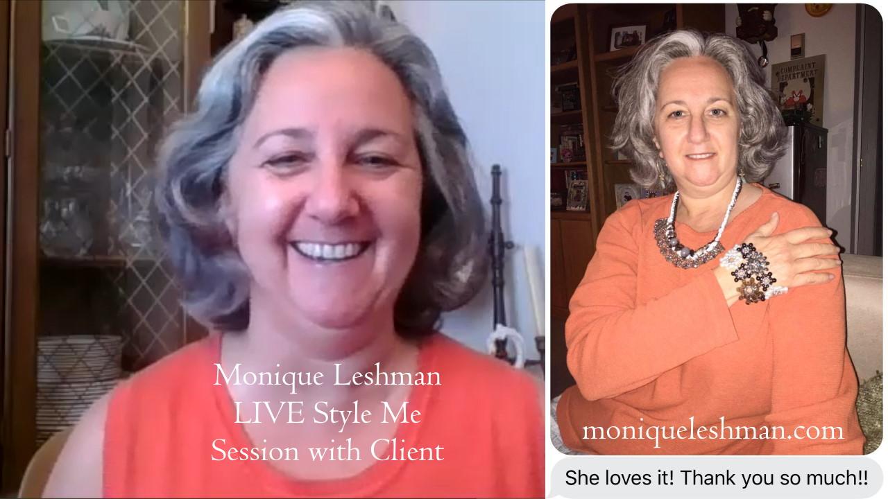 Quarantine Style: Digital Accessory ?Makeovers? with Designer Monique Leshman