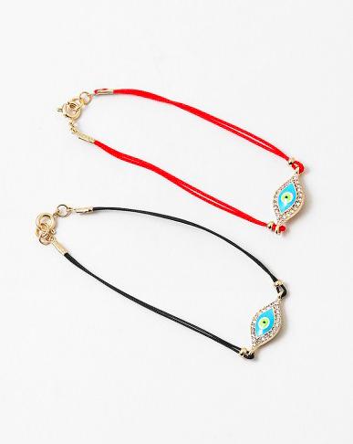 Evil Eye Crystal Protection Bracelet
