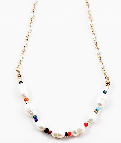 Pearls and Beads, thats Me Necklace
