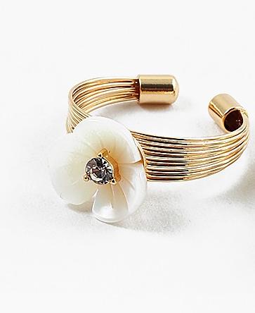 Daisy Pearl Ring