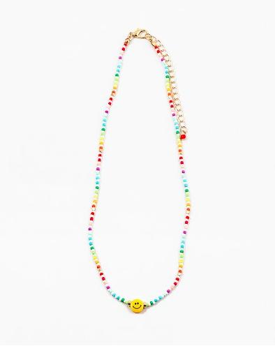 Happy Me Beaded Necklace